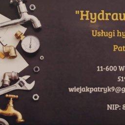 """""""Hydraulik 24"""" Usługi hydrauliczne Patryk Wiejak - Instalacje grzewcze Węgorzewo"""