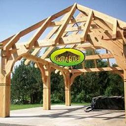 Ozdobna konstrukcja ciesielska, altana, wiata weselna, garaż, drewutnia, ogród zimowy