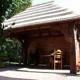 Drewniane altanki ogrodowe, altany, altana,MALINOWSKI TIMBER FRAMING, gont drewniany,domy z bali,