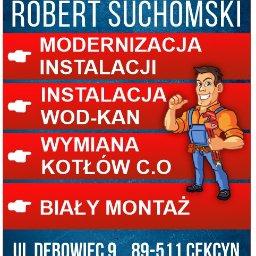 Usługi Hydrauliczne Robert Suchomski - Instalacja Sanitarna Cekcyn