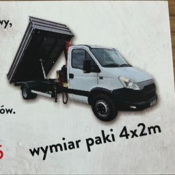 WYWROTKA DMC 3.5T - Wywóz Gruzu Świerzowa polska