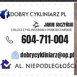 Dobry Cykliniarz PL Jakub Soczyński - Cyklinowanie Grójec