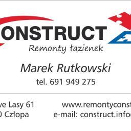 """Remonty łazienek """"Construct"""" Marek Rutkowski - Płyta karton gips Człopa"""