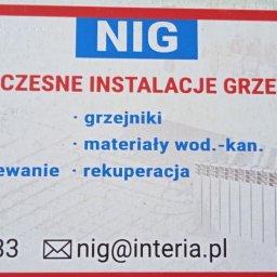 PPHU NIG NOWOCZESNE INSTALACJE GRZEWCZE - Montaż Instalacji Gazowych Łódź