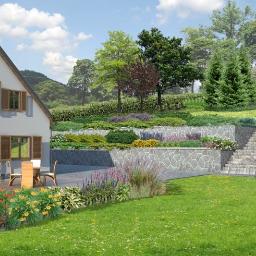 Projektowanie ogrodów Konstancin-Jeziorna 2