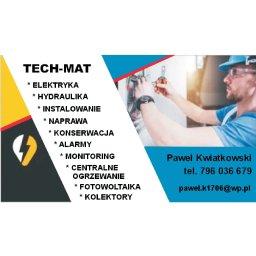 Tech- Mat Paweł Kwiatkowski - Elektryk Lubawa