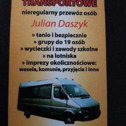 Usługi Transportowe - Nieregularny Przewóz Osób - Transport Drogowy Sanok