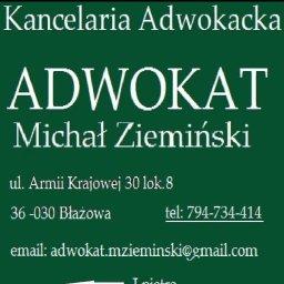 Kancelaria Adwokacka Adwokat Michał Ziemiński - Kancelaria Adwokacka Błażowa