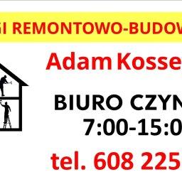 Usługi Remonotowo-Budowlane Adam Kossewski - Usługi Remontowe Mrągowo
