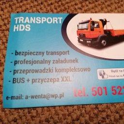 Transport HDS usługi transportowe przeprowadzki bus xxl przewóz towarów - Transport Busem Pruszcz Gdański