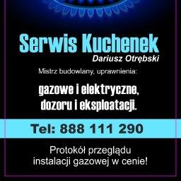Serwis Kuchenek Dariusz Otrębski - Instalacje gazowe Nowy Targ