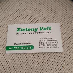 Zielony Volt Rulewicz Marcin - Montaż Systemów Alarmowych Szczecinek