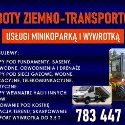 ROBOTY ZIEMNO-TRANSPORTOWE - Fundament Łęczna