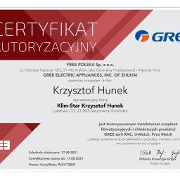 Klim-Star Krzysztof Hunek - Powietrzne Pompy Ciepła Jakubowice konińskie