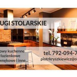 Usługi Stolarskie - Zabudowa Kuchni Mława