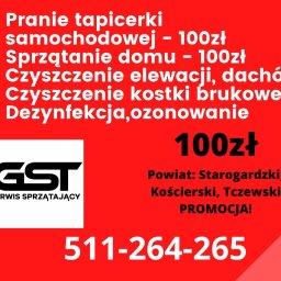 GST Serwis Sprzątający Sp z o.o. - Odświeżanie Elewacji Starogard Gdański