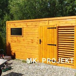 MK- Projekt - Zadaszenie Tarasu Gułtowy