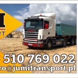 Jumi Transport - Żwirownia Kamień Pomorski