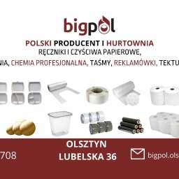 BIGPOL OLSZTYN - Palety Drewniane Olsztyn