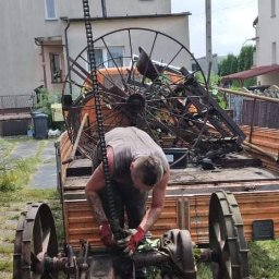 Utylizacja maszyn rolniczych