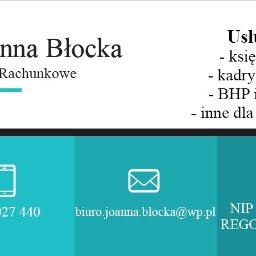 Biuro Rachunkowe Joanna Błocka - Prowadzenie Kadr i Płac Siemiatycze