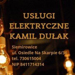 Usługi Elektryczne Kamil Dułak - Instalacje Elektryczne Lębork