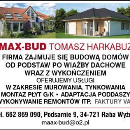 ZAKŁAD USŁUGOWO-BUDOWLANY MAX BUD TOMASZ HARKABUZ - Dom Klasyczny RABA WYŻNA