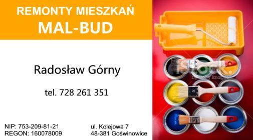 Mal-Bud Radosław Górny - Glazurnictwo Goświnowice