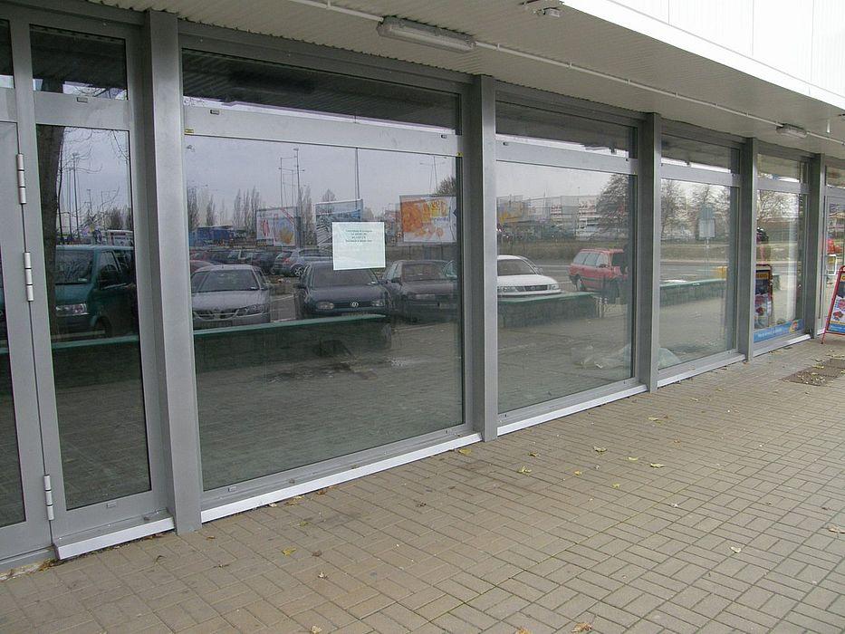 Okno sklepowe witryna