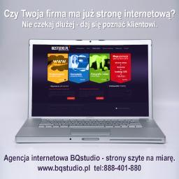Agencja Internetowa BQstudio - Sklep internetowy Oława