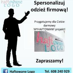 HAFTOWANE LOGO IWONA WOJTALEWICZ - Haftowanie Toruń