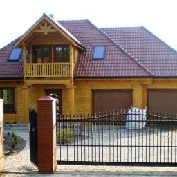 Timber Frame Domy z drewna - Domy Modułowe Dobrzyniewo Kościelne