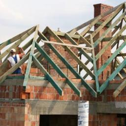 Zakład ogólno budowlany(Ciesielstwo konstrukcje dachowe) - Montaż Blachy Trapezowej Radłówek 29