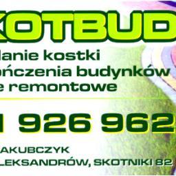 Skotbud - Kostka betonowa Aleksandrów