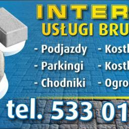 INTER BUD - Układanie kostki granitowej Nowogrodziec