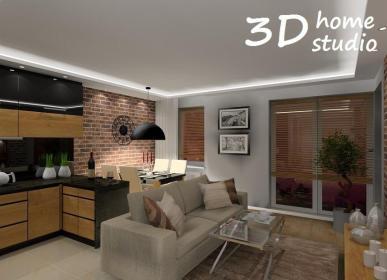 Pracownia projektowa 3D home studio Izabella Serwa - Architekt wnętrz Częstochowa