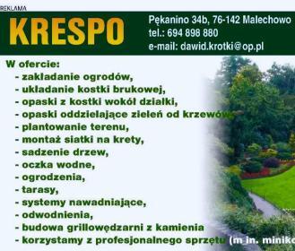 """""""KRESPO"""" Zakład Ogolnobudowlany Dawid Krotki - Murowanie ścian Malechowo"""