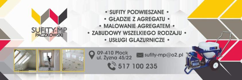 SUFITY-MP - Płyta karton gips Płock