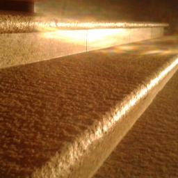 Schody granitowe-impregnacja