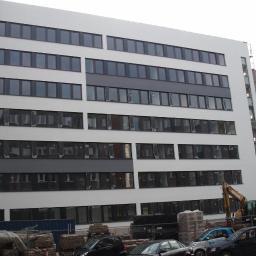 HAMBURG budynek TUV- NORD system wełna skalna-ETIC