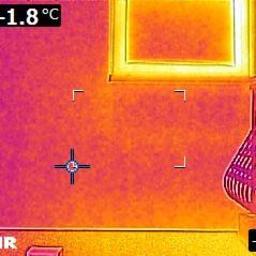 Ekspertyza, badanie kamerą termowizyjną