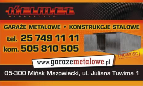 P.U.H. Kelmet - Garaże Blaszane Mińsk Mazowiecki