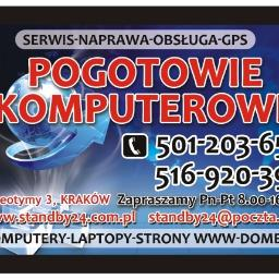 """POGOTOWIE KOMPUTEROWE """"standby24"""" - Internet Kraków"""