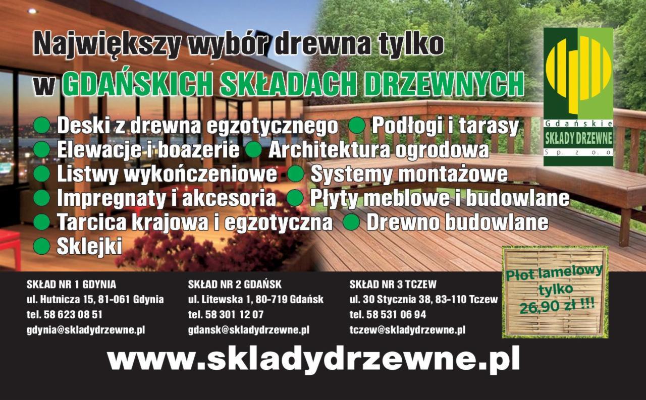 Gdańskie Składy Drzewne Tczew Opinie Kontakt