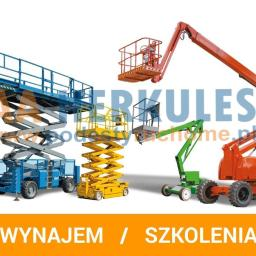 AA HERKULES PODESTY RUCHOME - Krótkoterminowy wynajem maszyn budowlanych Katowice