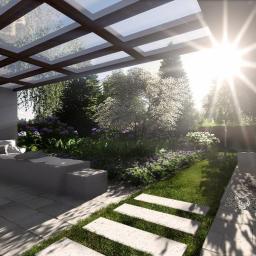 ZOEN Architektura krajobrazu - Ogrody Zimowe Drewniane Kamyk