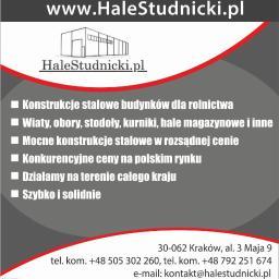 Hale Studnicki Piotr Studnicki - Montaż płyt warstwowych Kraków