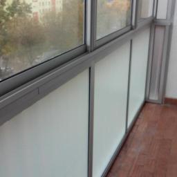 Balkon z dołem