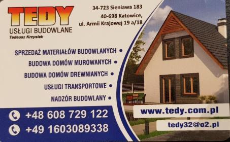 TEDY Usługi Budowlane - Domy Murowane Sieniawa
