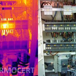 Badania i okresowe kontrole termowizyjne instalacji elektrycznych